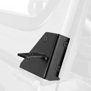 Rugged Ridge 11027.01 Black Windshield Hinge Light Bracket