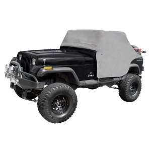 Rugged Ridge 13310.09 Grey Water Resistant Vinyl Cab Cover