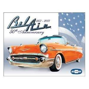Chevy Chevrolet Bel Air Car tin sign #1395