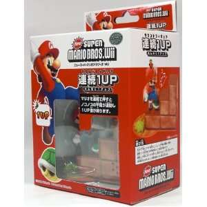 Super Mario Bros Wii 1up Turtle Tip Mini Sound Figure Toys & Games