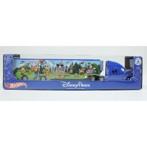 Disney Parks   Mattel Hot Wheels Attractions Semi Truck
