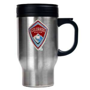 Colorado Rapids 16oz Stainless Steel Travel Mug