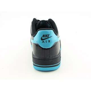 Nike Air Force 1 Youth Kids Boys SZ 7 Black/Chlorine Blue Basketball