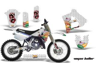 AMR RACING MOTORCYCLE GRAPHIC MX DECAL STICKER KIT YAMAHA YZ125 91 92