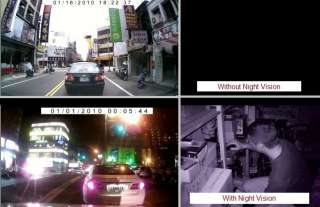 Car Night Vision Camera HD Color Display & Motion Detection Still