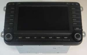 NEW GENUINE SEAT ALTEA TOLEDO RADIO STEREO NAVIGATION HEAD UNIT   5P0