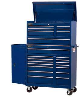 JH WILLIAMS COMMERCIAL SERIES 42 ROLL CABINET, TOP CHEST AND SIDE