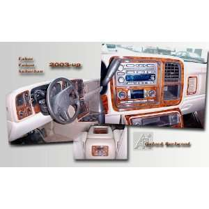 , SILVERADO 2003 2006 Wood Grain Dash Trim Kit