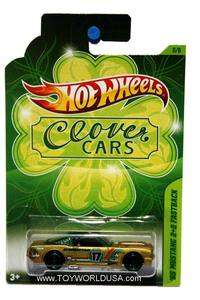 2012 Hot Wheels Clover Cars #6 1965 Ford Mustang 2+2 Fastback
