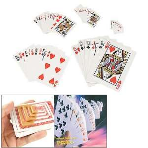 Como Magician Diminishing Playing Cards Poker Magic Trick Baby