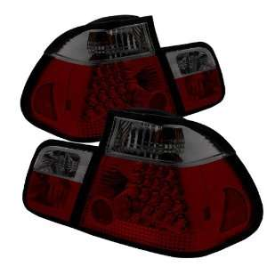 Spyder Auto ALT YD BE4602 4D LED RS BMW E46 3 Series 4 Door Red/Smoke