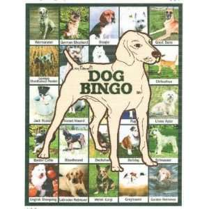 Dog Bingo Educational Game Toys & Games