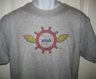 Seattle PILOTS 1969 Throwback Retro Logo T Shirt XL