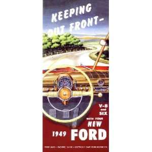 1949 FORD Car Full Line Owners Manual User Guide