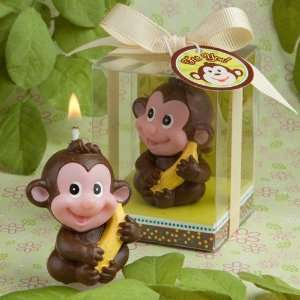 Adorable Monkey Baby Shower Candle Favors Health
