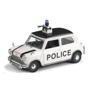 1967 Morris Mini Cooper Police Car   Limited Edition Toys & Games