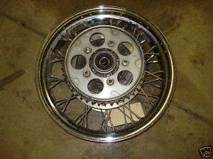 2000 HONDA VLX 600 REAR WHEEL RIM SPROCKET #103
