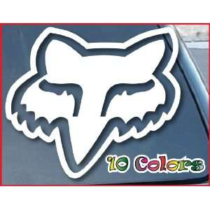 Car Window Vinyl Decal Sticker 4 Wide (Color White)