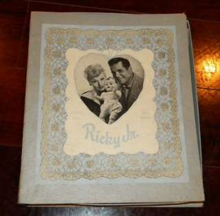 LOVE LUCY LAYETTE SET BOX 1950s LUCILLE BALL DESI