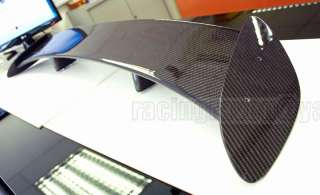 CARBON FIBER UNIVERSAL 51 VOLVO TOYOTA GT REAR WING TRUNK SPOILER