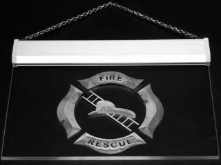 i901 b Firefighter Helmet Ladder Fire NEW Light Sign