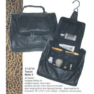 Leather Travel Mate II Toiletry Bag Beauty