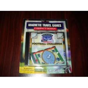 Football Challenge by Excalibur Magnetic Travel Compact
