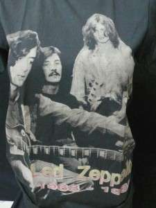 LED ZEPPELIN SWAN SONG ORANGE RETRO VINTAGE T SHIRT