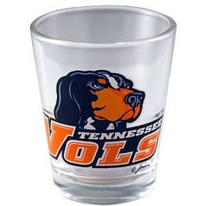 NCAA Tennessee Volunteers Logo Shotglass Smokey