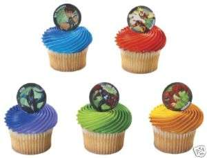 Ben 10 CupCake Topper Party Favor Supplies Birthday