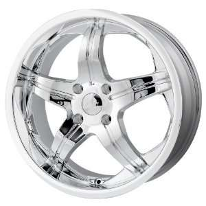 20 Inch 20x8.5 MPW wheels STYLE MP107 Chrome wheels rims