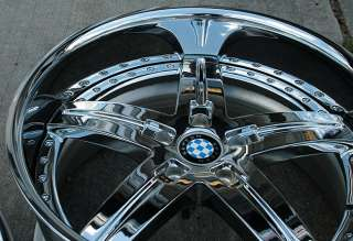 BEYERN WOLFF 20 CHROME RIMS WHEELS BMW 525 528 530