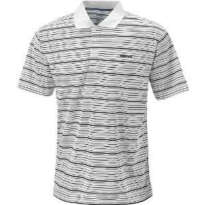 Reebok Tennis Club Stripe Polo Mens   White/Black Extra