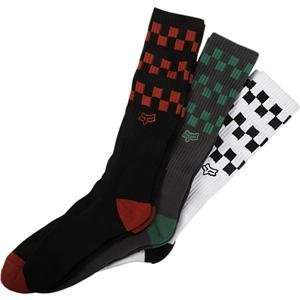 Fox Racing Checks Socks   Large/X Large/Misc Automotive