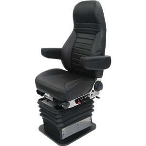 National Seating High Performance Suspension Truck Seat   Black Cloth