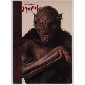 Bram Stokers Dracula Movie Topps Promotional Trading Card