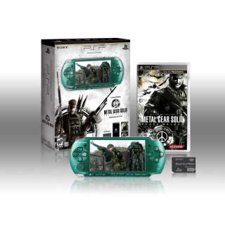 Edition Green Metal Gear Solid Peace Walker Entertainment Pack