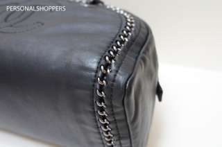 BEAUTIFUL LUXURY by CHANEL BLACK LEATHER BOWLER BAG