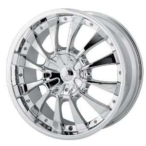 22x9.5 MPW Style MP202 (Chrome) Wheels/Rims 5x115/127