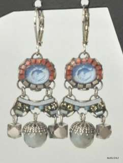 New AYALA BAR Classic SEA SPRAY Wire Dangle Earrings Fall 2011