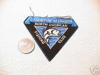 NAFC NORTH AMERICAN FISHING CLUB CHARTER MEMBER PATCH