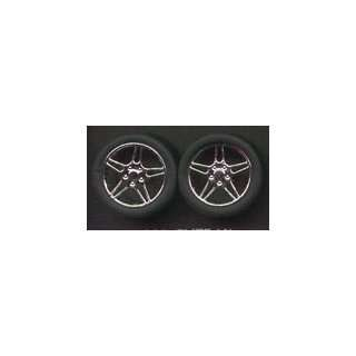 Elite Chrome Rims w/Tires (4) 1 24 1 25 Pegasus