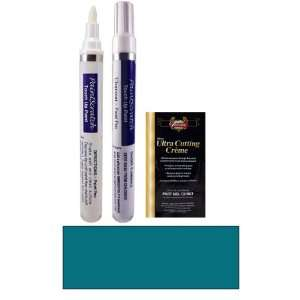 1/2 Oz. Turquoise Blue Metallic Paint Pen Kit for 1996 Kia
