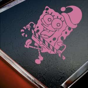 SpongeBob Pink Decal Squarepants Car Truck Window Pink