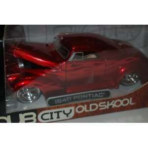 Dub City Oldskool 1940 Pontiac 124 Die Cast Metal with