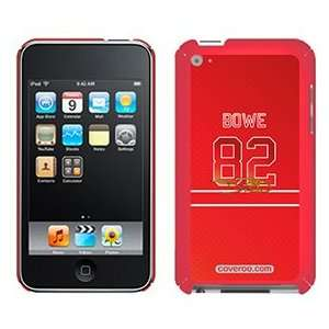 Dwayne Bowe Color Jersey on iPod Touch 4G XGear Shell Case