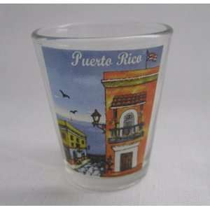 Puerto Rico shot glass souvenir