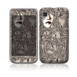 Entangled Decorative Skin Cover Decal Sticker for Samsung Galaxy S GT