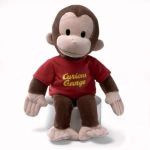 Curious George   16 inch plush monkey by Gund Toys & Games