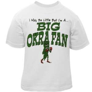 Delta State Fighting Okra Infant White Big Fan T shirt